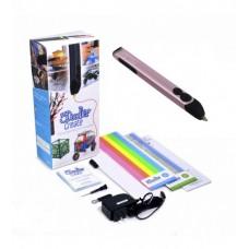 Профессиональная 3D-ручка 3Doodler Create - РОЗОВЫЙ МЕТАЛЛИК
