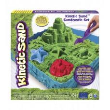 Набор песка для творчества - KINETIC SAND ЗАМОК ИЗ ПЕСКА (зеленый)