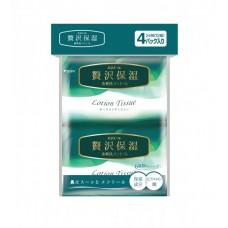 Платочки бумажные освежающие elleair FRESH LOTION (4 карманные упаковки 12 шт)