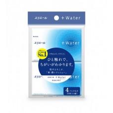 Платочки бумажные увлажняющие elleair +WATER (4 карманные упаковки 14 шт)