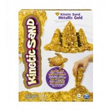 Песок для детского творчества - KINETIC SAND METALLIC (золотой)