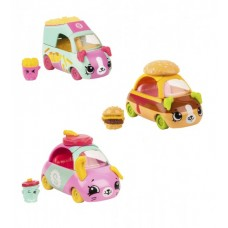 Набор мини-машинок SHOPKINS CUTIE CARS S3 - СТРИТ-ФУД