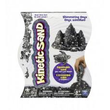 Песок для детского творчества - KINETIC SAND METALLIC (черный)