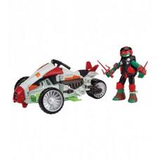 Боевой транспорт с фигурой - Квадроцикл и Рафаэль