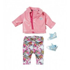 Набор одежды для куклы BABY BORN - ГЛЭМ-РОК