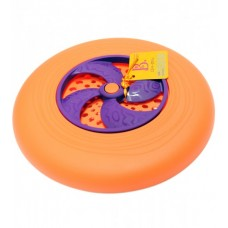 Игрушка - ФРИСБИ (цвет папайя-сливовый)