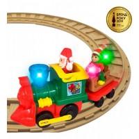 Игровой набор с железной дорогой - РОЖДЕСТВЕНСКИЙ ЭКСПРЕСС