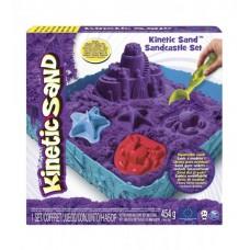 Набор песка для творчества - KINETIC SAND ЗАМОК ИЗ ПЕСКА (фиолетовый)