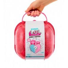 Игровой набор с куклами L.O.L. - СЕРДЦЕ-СЮРПРИЗ (в розовом кейсе)