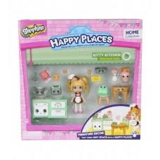 Игровой набор с куклой HAPPY PLACES S1 – КУХНЯ КОКО КУККИ
