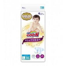 Подгузники GOO.N SUPER PREMIUM MARSHMALLOW для детей (L, 9-14 кг)