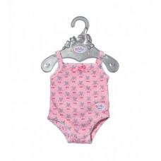 Одежда для куклы BABY BORN - БОДИ (розовое)