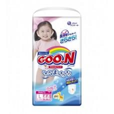 Трусики-подгузники GOO.N для девочек (L, 9-14 кг)