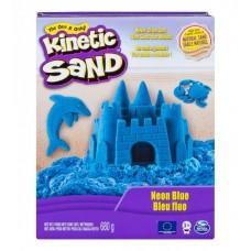 Песок для детского творчества - KINETIC SAND COLOR (голубой)