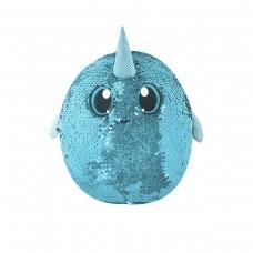Мягкая игрушка с пайетками SHIMMEEZ – ЗАГАДОЧНЫЙ НАРВАЛ