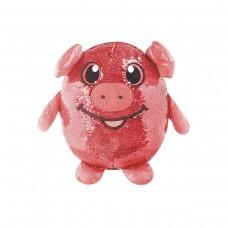 Мягкая игрушка с пайетками SHIMMEEZ – ВЕСЕЛАЯ СВИНКА