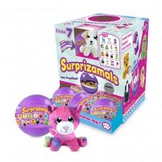 Мягкая игрушка-сюрприз в шаре SURPRIZAMALS S7 (15 видов в ассорт., в дисплее с окошком