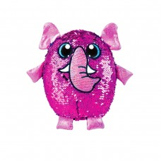 Мягкая игрушка с пайетками SHIMMEEZ S2 - СЛОН ПИНКИ