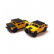 Автомодель - HUMMER H1 (желтый)