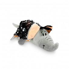 Мягкая игрушка с пайетками 2 в 1 - ZooPrяtki - СЛОН-ТИГР (12 cm)