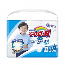 Трусики-подгузники GOO.N для мальчиков (XXL, 13-25 кг)