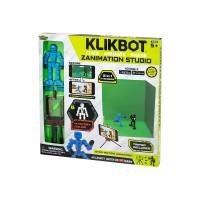 Игровой набор для анимационного творчества KLIKBOT S1 – СТУДИЯ Z-SCREEN (2 экскл. фиг., сцена)