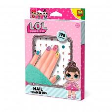 Набір наліпок для нігтів серії L.O.L SURPRISE! - Модний лук