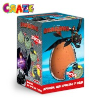 Растущая игрушка в яйце - DREAMWORKS DRAGONS (в ассорт.,в диспл.)