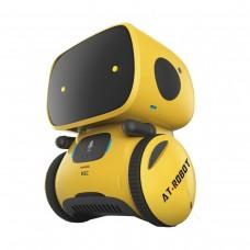 Интерактивный робот с голосовым управлением – AT-ROBOT (жёлтый, озвуч.укр.)