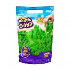 Пісок для дитячої творчості - KINETIC SAND COLOUR (зелений, 907 g)