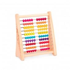 Развивающая деревянная игрушка-счеты - ТУТТИ-ФРУТТИ
