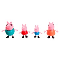 Набор фигурок Peppa - БОЛЬШАЯ СЕМЬЯ ПЕППЫ S2 (Мама, Папа, Пеппа и Джордж)