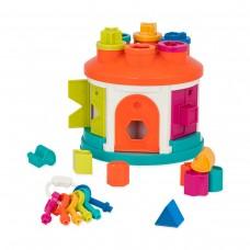 Розвиваюча іграшка-сортер - Розумний будиночок