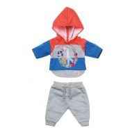 Набор одежды для куклы BABY BORN - ТРЕНДОВЫЙ СПОРТИВНЫЙ КОСТЮМ (синий)