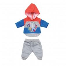 Набір одягу для ляльки BABY born - Трендовий спортивний костюм (синій)