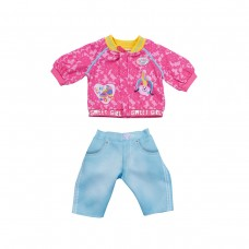 Набор одежды для куклы BABY BORN - КЭЖУАЛ СЕСТРИЧКИ (розовый)