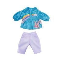 Набор одежды для куклы BABY BORN - КЭЖУАЛ СЕСТРИЧКИ (голубой)