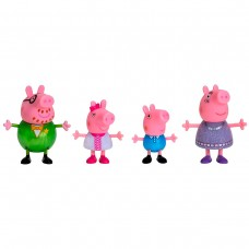 Набір фігурок Peppa - Велика сім'я Пеппи, свято