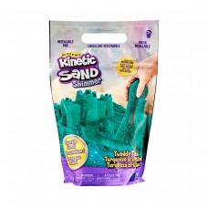 Пісок для дитячої творчості - Kinetic Sand Бірюзовий блиск