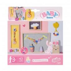 НабІр аксесуарів для ляльки BABY BORN -  Ніжний догляд з чарівною пустушкою