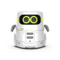 Розумний робот з сенсорним керуванням та навчальними картками - AT-ROBOT 2 (білий)