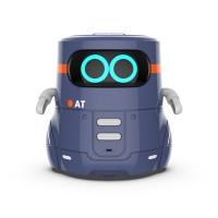 Розумний робот з сенсорним керуванням та навчальними картками - AT-ROBOT 2 (темно-фіолетовий)