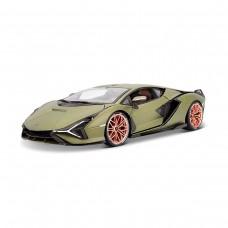 Автомодель - Lamborghini Sián FKP 37 (матовий зелений металік, 1:18)