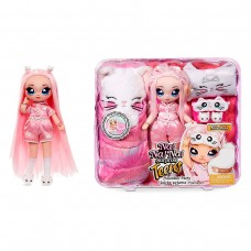 """Ігровий набір з лялькою Na! Na! Na! Surprise серії Teens"""" - Піжамна кітті-вечірка Міли Роуз"""""""