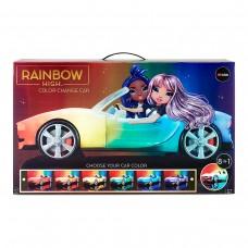 Автомобіль для ляльки Rainbow High - Різнокольорове сяйво
