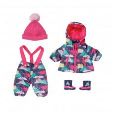 Набір одягу для ляльки BABY Born серії Deluxe - Сніжна зима
