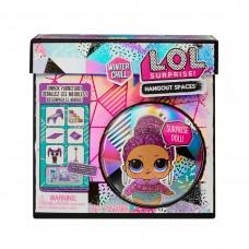 Ігровий набір з лялькою L.O.L. SURPRISE! Маленькі кімнатки- Зимовий сьют Королеви Шик