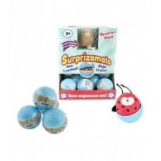 Мягкая игрушка-антистресс в шаре SURPRIZAMALS – КРОШКИ КАВАЙ