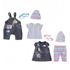 Набор одежды для куклы BABY BORN - ДЖИНСОВОЕ НАСТРОЕНИЕ