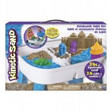 Набор песка для творчества - KINETIC SAND TABLE (голубой)